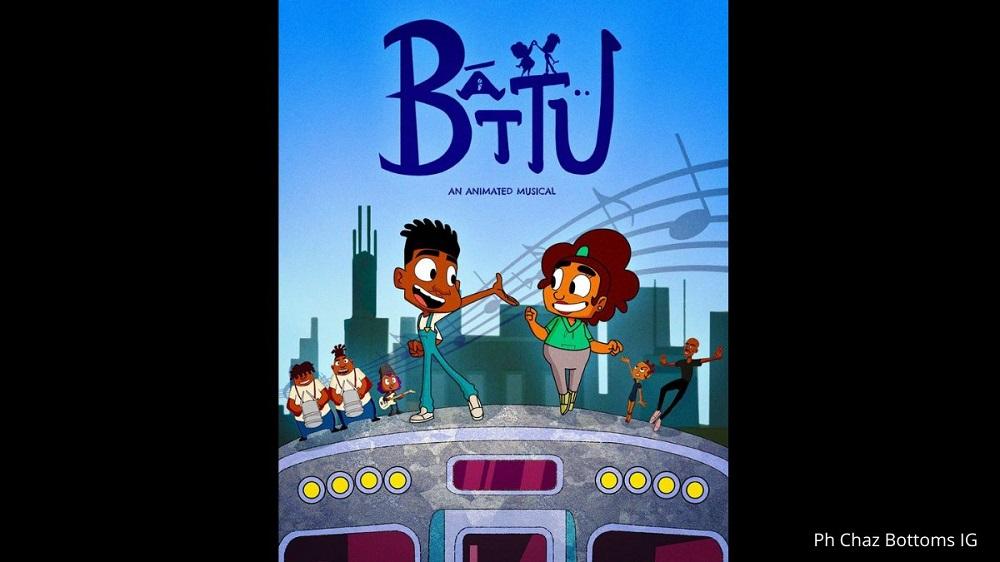 Poster Film Battu
