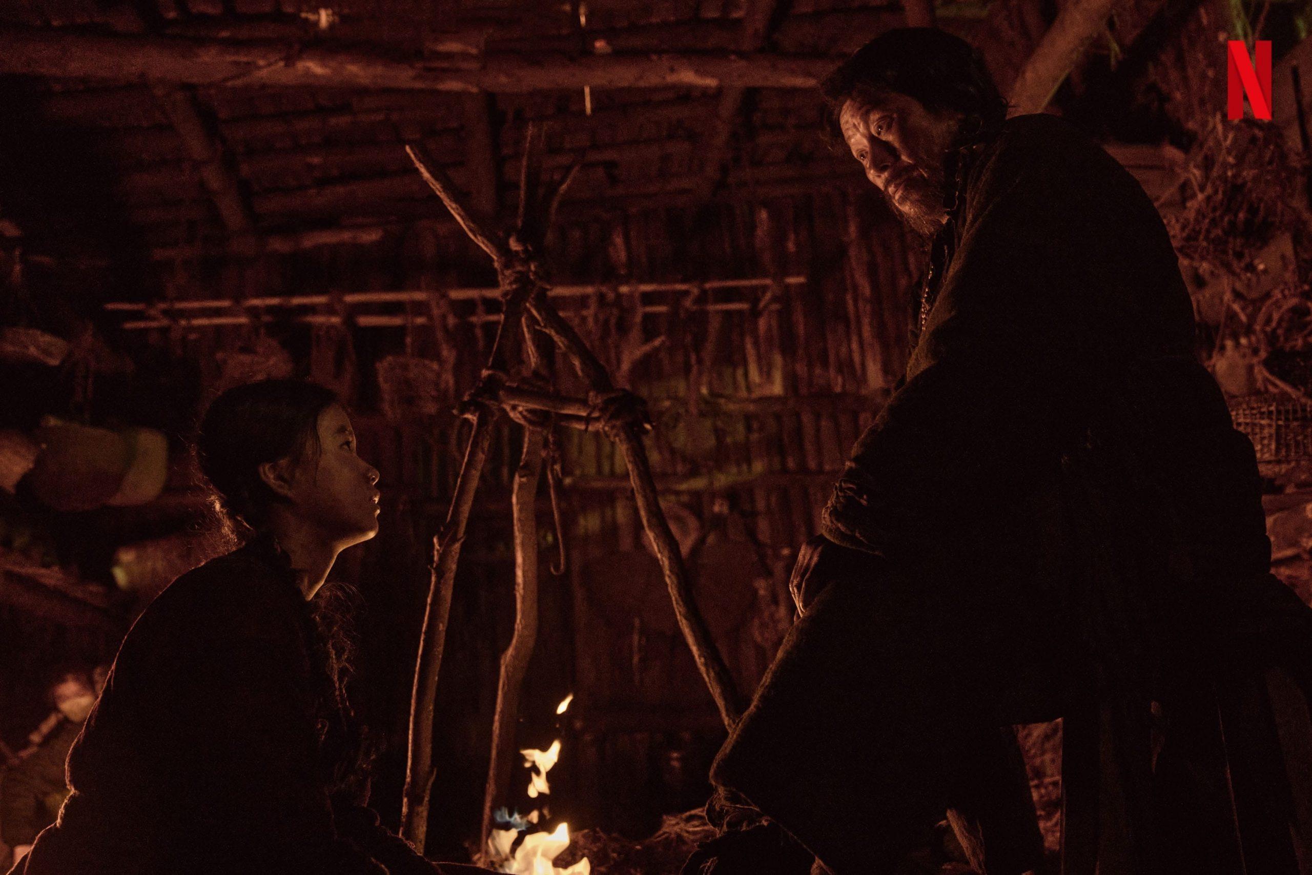 Kim Si Ah sebagai Ashin dalam Kingdon Ashin of the North (sumber soompi)