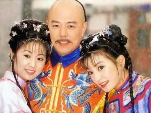 Xia Zi Wei (Ruby Lin), Raja Qian Long (Zhang Tie Lin), Xiao Yan Zi (Vicky Zhao)