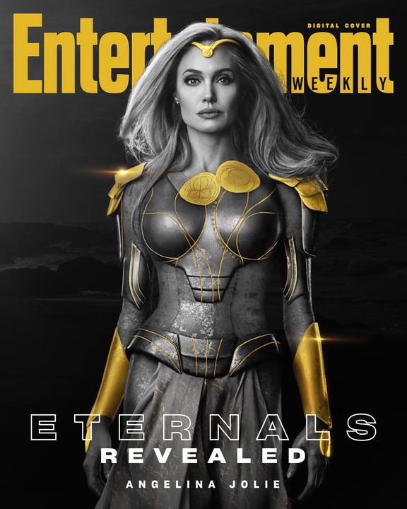 Angelina Jolie sebagai Thena dari Eternals