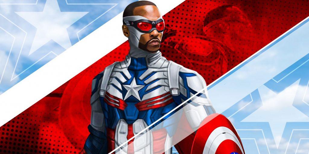 Anthony Mackie sebagai Captain America