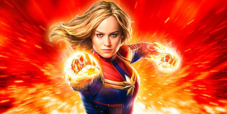 Brie Larson sebagai Captain Marvels