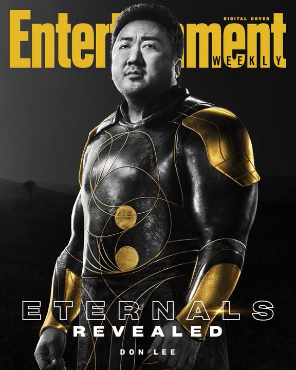 Don Lee sebagai Gilgamesh dari Eternals