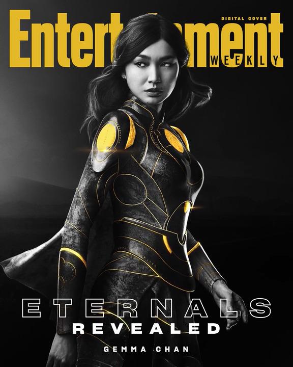 Gemma Chan sebagai Sersi dari Eternals