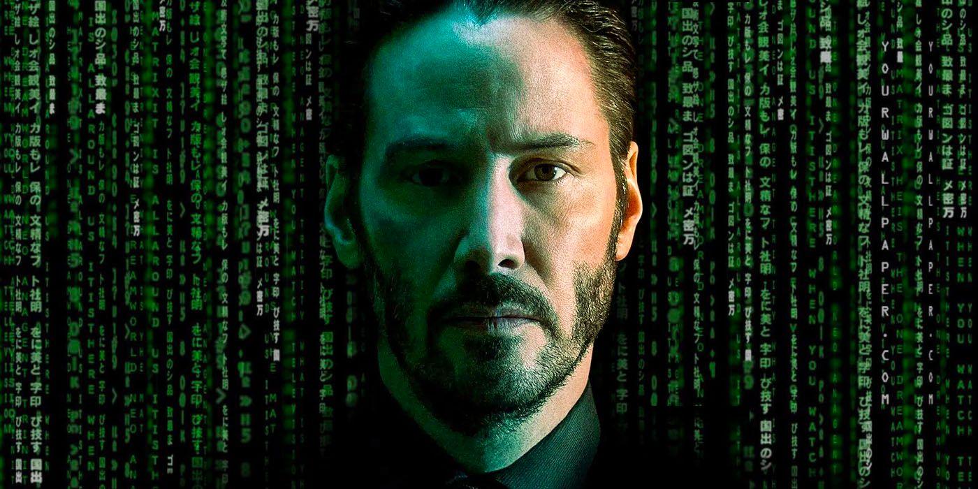 Keanu Reeves ilustrasi MATRIX 4