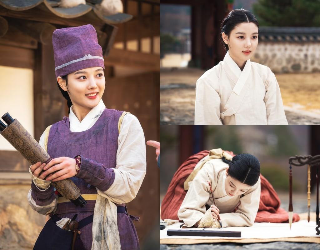 Kim Yoo Jung dalam Lovers Of The Red Sky
