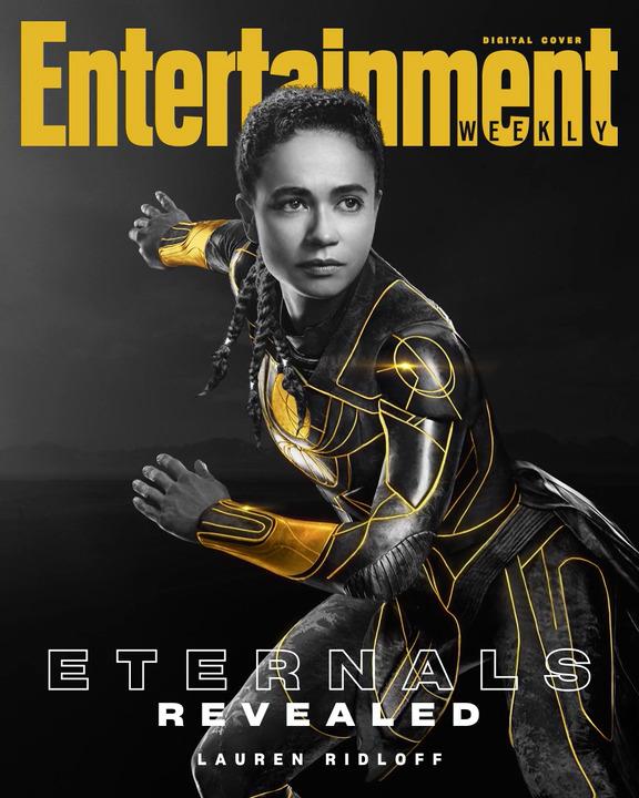 Lauren Ridloff sebagai Makkari dari Eternals