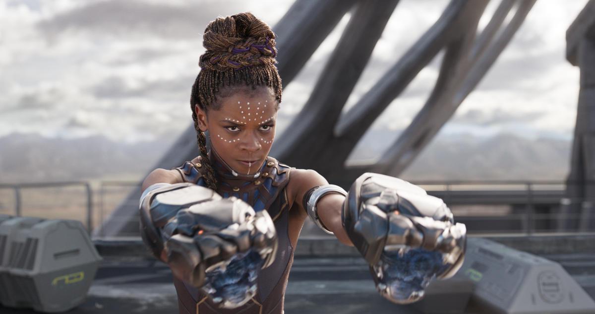 Letitia Wright sebagai Shuri dalam Black Panther