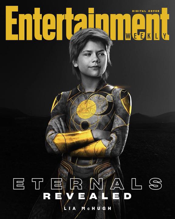 Lia McHugh sebagai Sprite dari Eternals