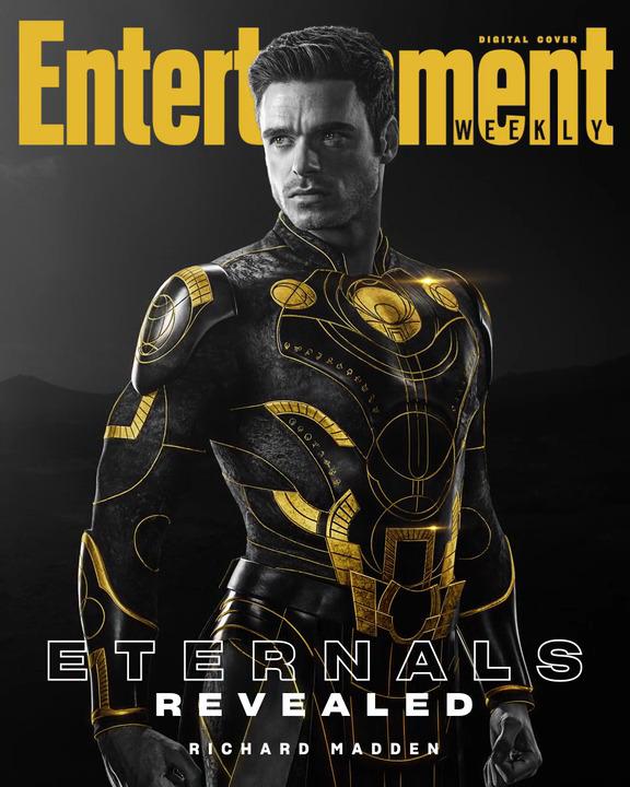 Richard Madden sebagai Ikaris dari Eternals