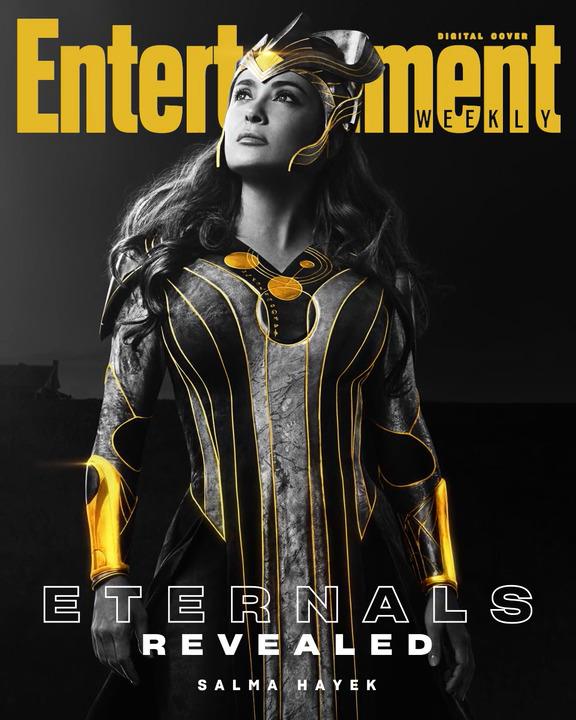 Salma Hayek sebagai Ajak dari Eternals