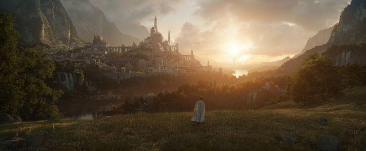 The Lord of the Rings Amazon gambar pertama
