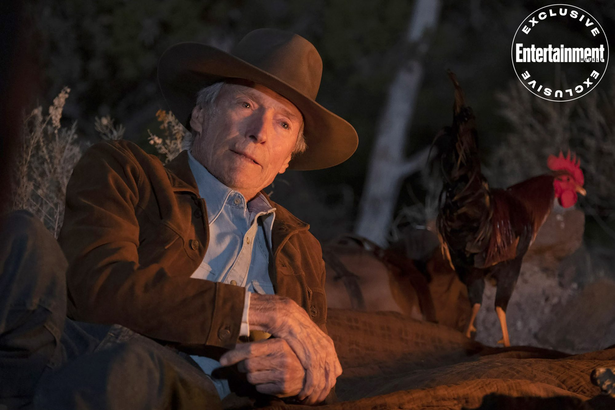 First look Clint Eastwood on Cry Macho
