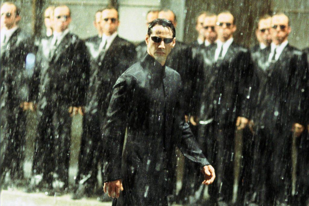 Keanu Reeves sebagai Neo dalam Matrix