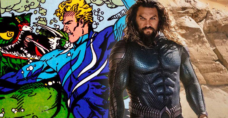 Aquaman 2 Stealth Suit Jason Momoa