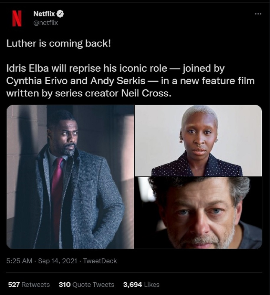 Luther Netflix