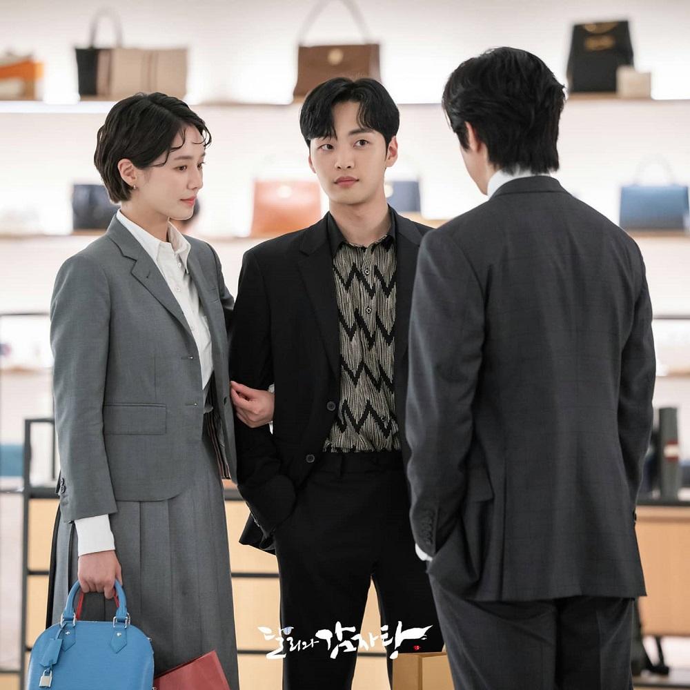 Park Gyu Young, Kim Min Jae, dan Kwon Yool dalam drama Dali and Cocky Prince