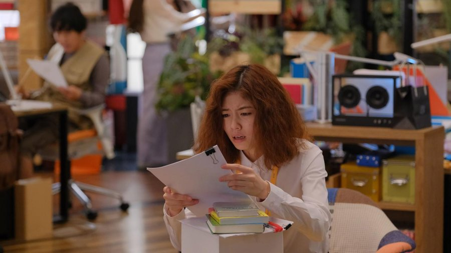 Salah satu scene dalam Kanojo wa Kirei Datta