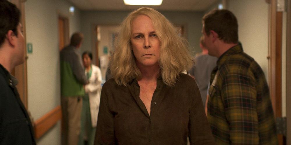 Laurie Strode (Jamie Lee Curtis) in Halloween Kills