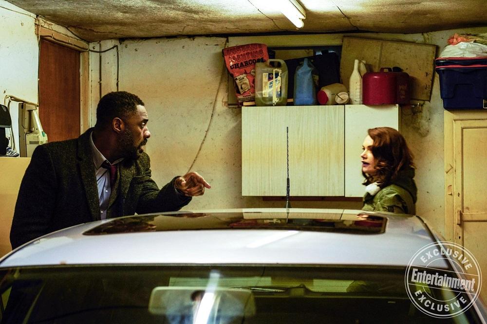 Idris Elba and Ruth Wilson