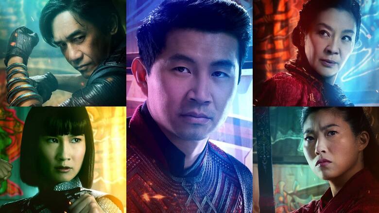 Fakta Menarik Film Shang-Chi - para aktor Asia