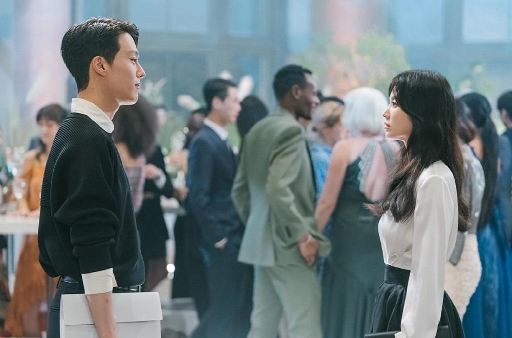 Jang Ki Yong dan Song Hye Kyo dalam Now, We Are Breaking Up