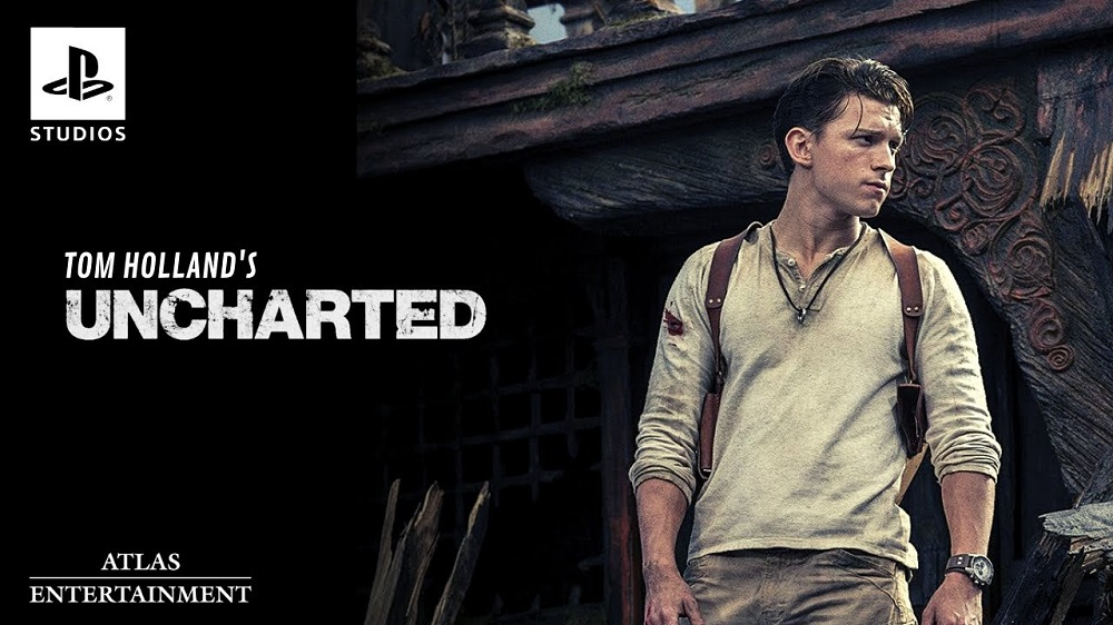 Tom Holland in Uncharted Movie