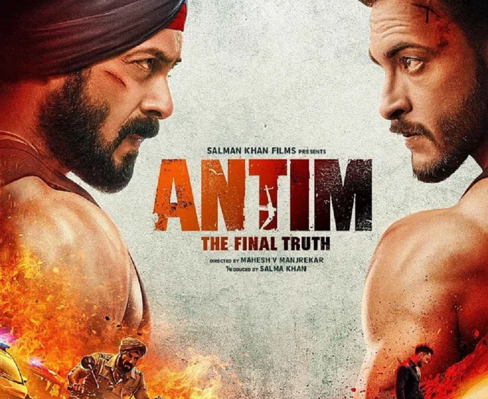 Poster Film Antim: The Final Truth