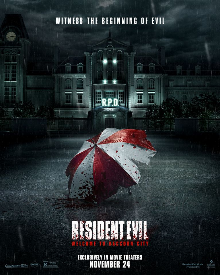 Resident Evil: Welcome to Racoon City poster